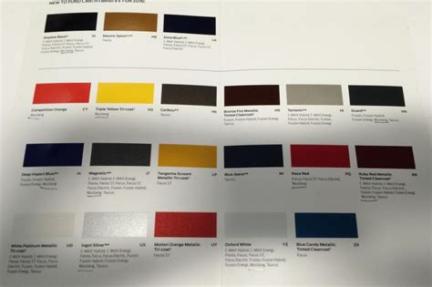 colors for 2016 2016 mustang colors leak out mustang heaven