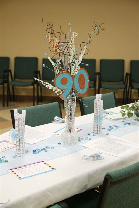90th birthday centerpieces 25 best images about 90th birthday ideas on