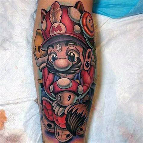 tattoo ideas video games 100 tattoos for gamer ink designs