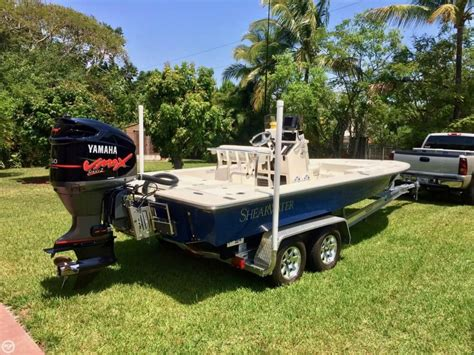 used shearwater boats for sale in fl 2008 used shearwater x2200 bay boat for sale 41 700