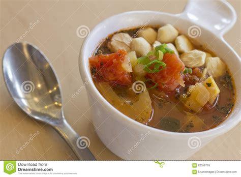 tomato garden vegetable soup tomato vegetable soup stock photo image 62559718