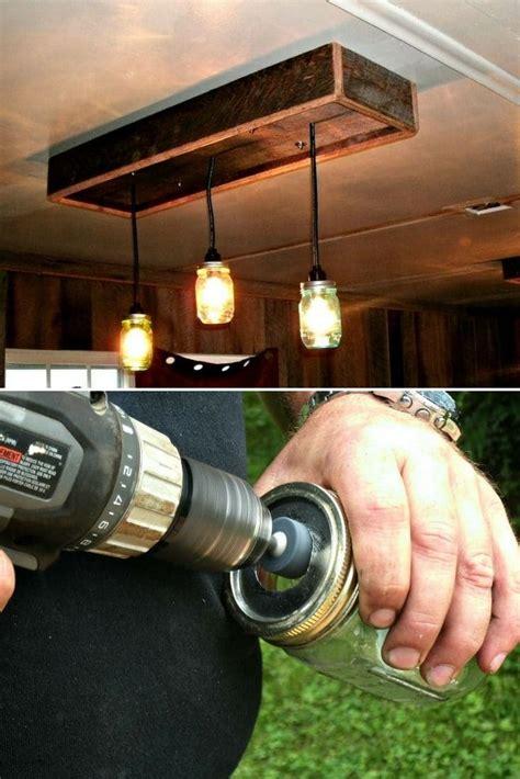 diy tutorial mason jar chandelier mason jar chandelier