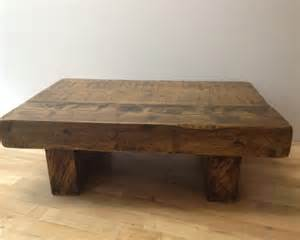 Chunky Wood Coffee Table The 3ft X 2ft Chunky Rustic Coffee Table Ely Rustic