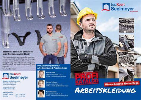 seelmeyer neuenkirchen profi katalog arbeitskleidung bauxpert seelmeyer by