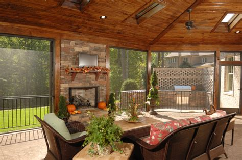 outdoor screen room 55 luxurious covered patio ideas pictures