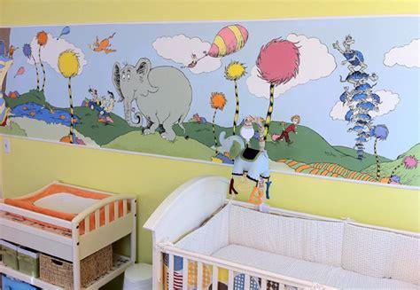 dr seuss wall murals dr seuss inspired nursery project nursery