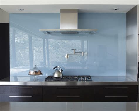light blue plate glass backsplash beautiful homes design