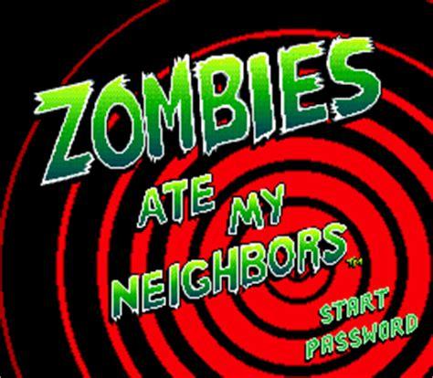 Emuparadise Zombies Ate My Neighbors | zombies ate my neighbors usa rom
