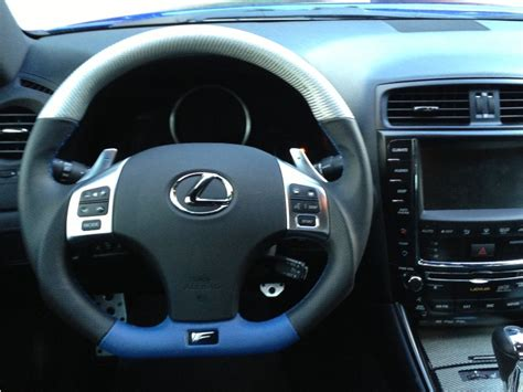 lexus steering wheel dctms lexus is250 is350 f carbonfiber wood