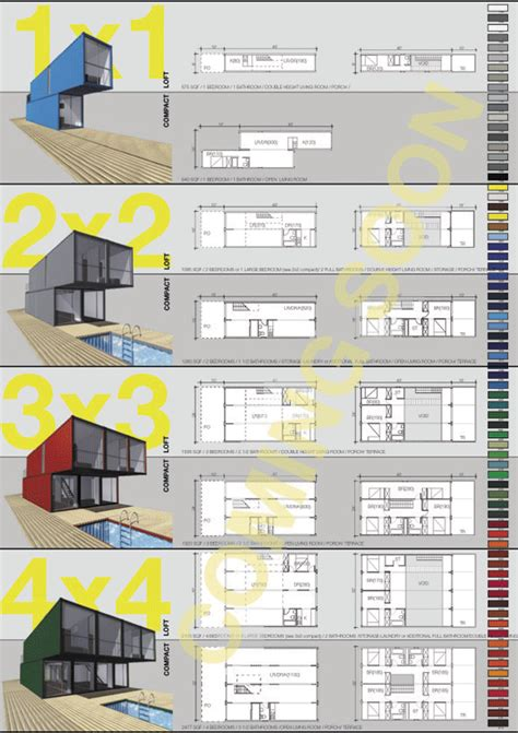 container homes floor plans architect sketch