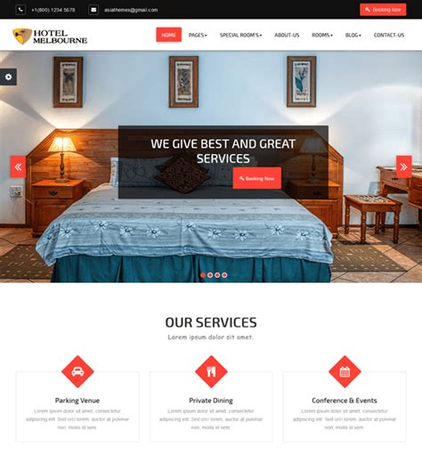 theme hotel melbourne 10 of the best hotel wordpress themes down
