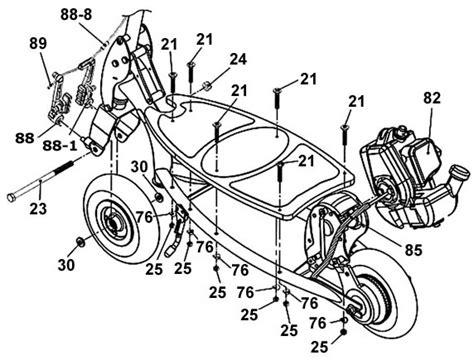 wiring diagram for a x1 49cc gas pocket bike wiring