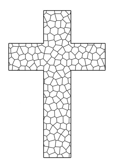 coloring page cross free printable cross coloring pages