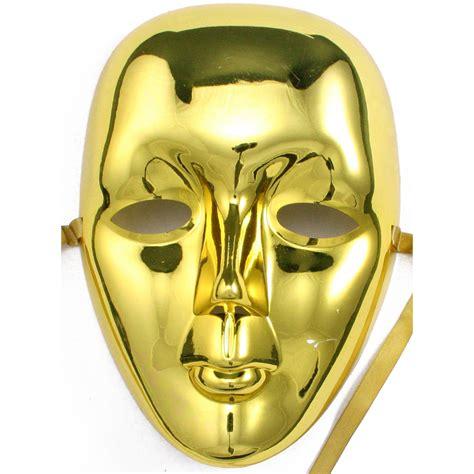 plastic face mask gold mardigrasoutlet com