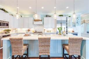 Modern Kitchen Island Lights by Coastal Kitchen Home Stories A To Z