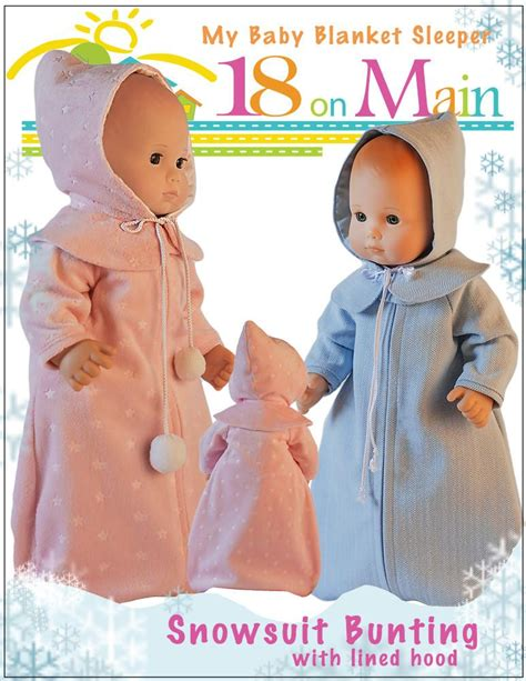 Pajama Chirstmas Mc 15 C Pj2247 18 on my baby blanket sleeper doll clothes pattern 15