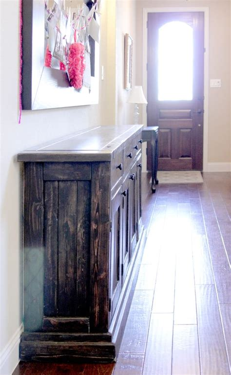 Rustic Sideboard Buffet Table Do It Yourself Home Do It Yourself Buffet