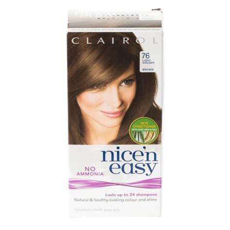 nice n easy color chart hairstylegalleries com nice n easy hair color lightest golden brown clairol nice