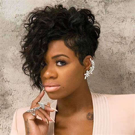 black ladies with round face hair style 50 super chic short haircuts for women hair motive hair