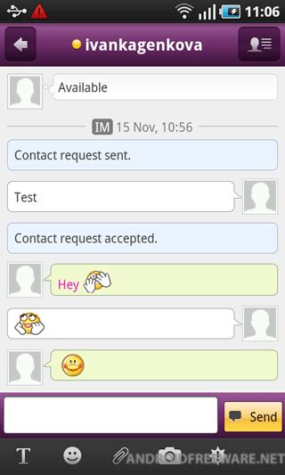 yahoo messenger free for android phone yahoo messenger free android app android freeware