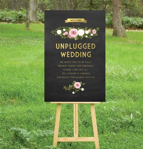 wedding ceremony welcome sign the best 20 wedding aisle signs
