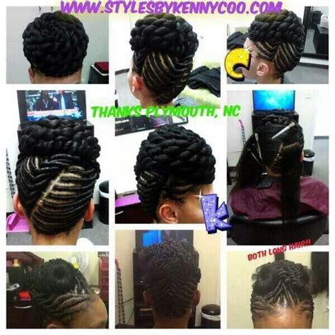 flat twist with synthetic hair updos flat twist hairstyles hair beauty that i love