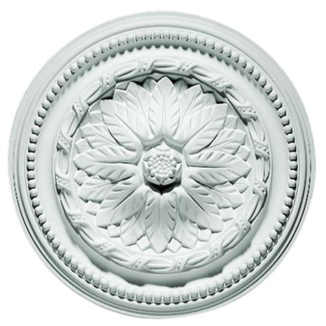 Focal Point Ceiling Medallions by Focal Point 15 In Savanah Ceiling Medallion 80116 The Home Depot