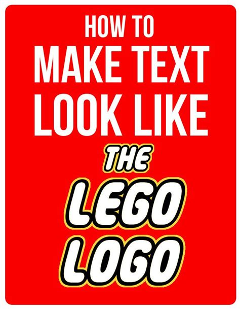 printable text fonts how to make text look like the lego logo using gimp
