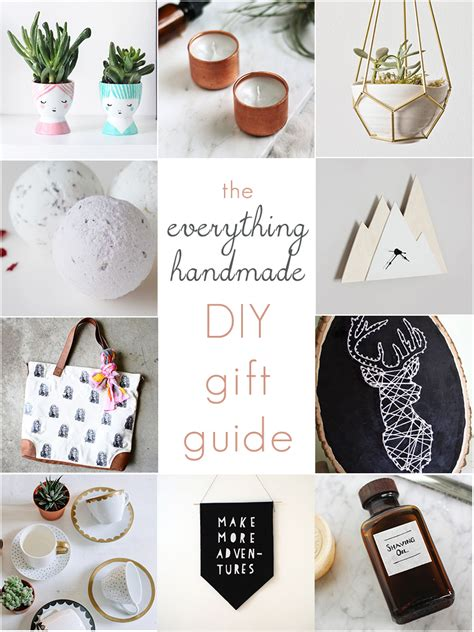 Best Handmade Gift - the 10 best diy gift ideas just in time for the holidays