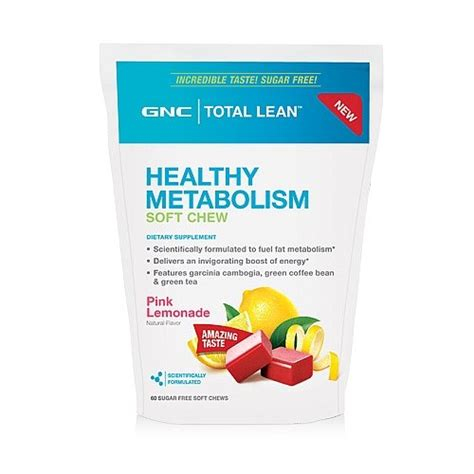 Green Tea Detox Pills Gnc by Gnc Gnc Total Lean Healthy Metabolism Soft Chews Pin On
