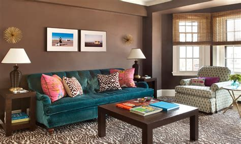 images of teal n brown decor for lounge neutral living