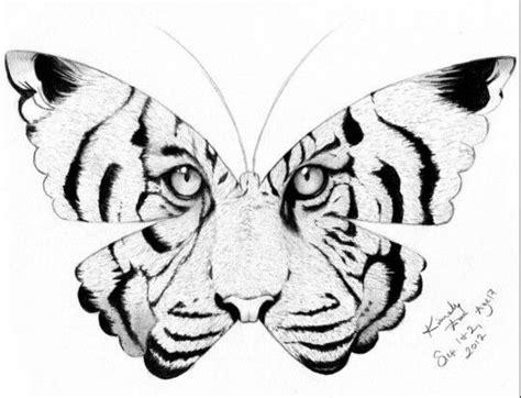 tiger butterfly tattoo designs tiger butterfly design tattoos