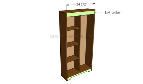 how to build an armoire wardrobe how to build an armoire wardrobe howtospecialist how