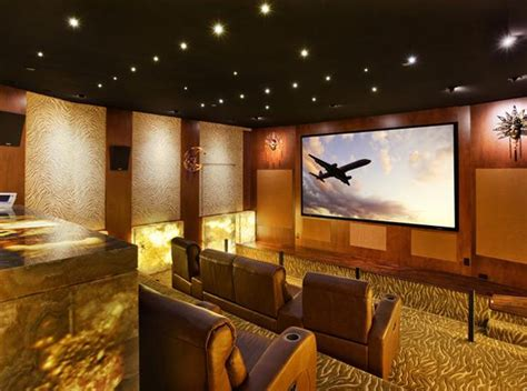 home design gold inspiring home theater design ideas