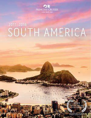 princess cruises south america princess cruises cruise holiday brochures