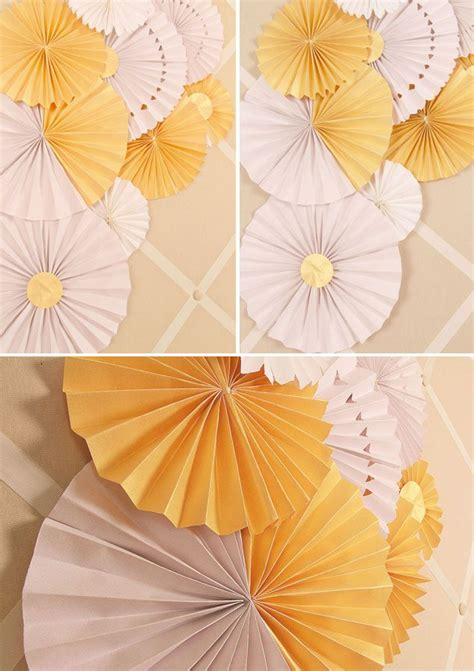 How To Make Paper Fans For Weddings - 2013 recap diy wedding projects