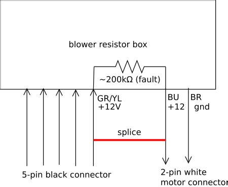 blower motor resistor diagnosis inductor voltage source loop found containing hspice 28 images blower motor resistor