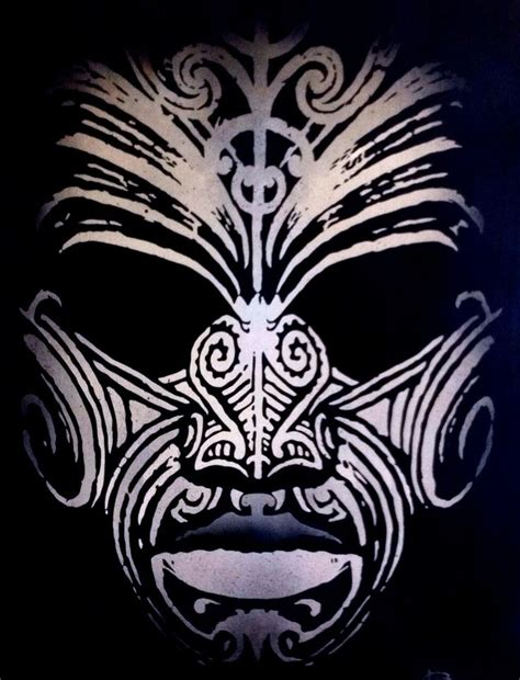 polynesian face tattoo designs 271 best images about ta moko on