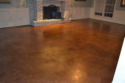 ruby bloom brown paper bag floor concrete subfloor