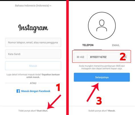cara membuat akun instagram lewat google membuat akun instagram terverifikasi cara membuat 2 akun