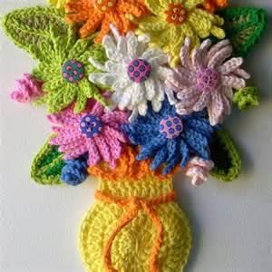 25 best ideas about crochet vase on crochet