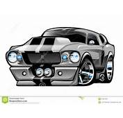 67 Shelby Mustang Cobra Karikatur Eleonor Viele Chrom Zur&252ckhaltung