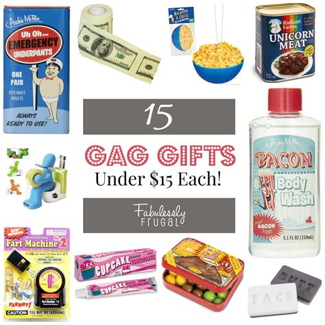 prank gifts 15 gifts 15 each