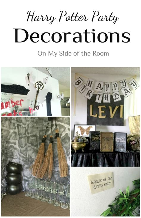 harry potter decoration ideas harry potter decorations ideas