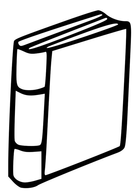 Dibujo para colorear libro - Dibujos Para Imprimir Gratis