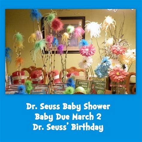 Dr Seuss Baby Shower Theme by Obseussed Dr Seuss Baby Shower