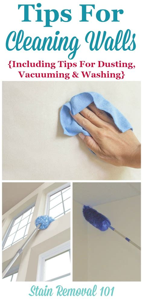 clean wall tips for cleaning walls including general cleaning