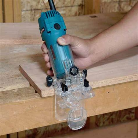 Makita 3709 Light Easy Trimmer makita 3708fc tilt base laminate trimmer with l e d light
