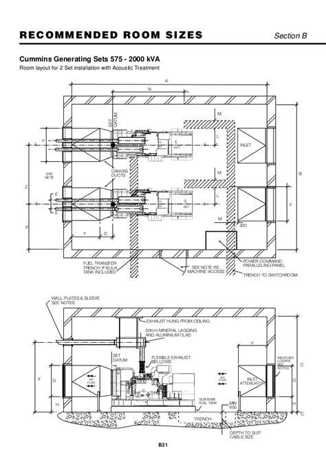 generator room layout design 86548526 installation for generator set