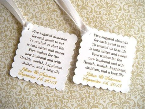 meaning of almonds at a wedding 25 almond wedding favours ideas on